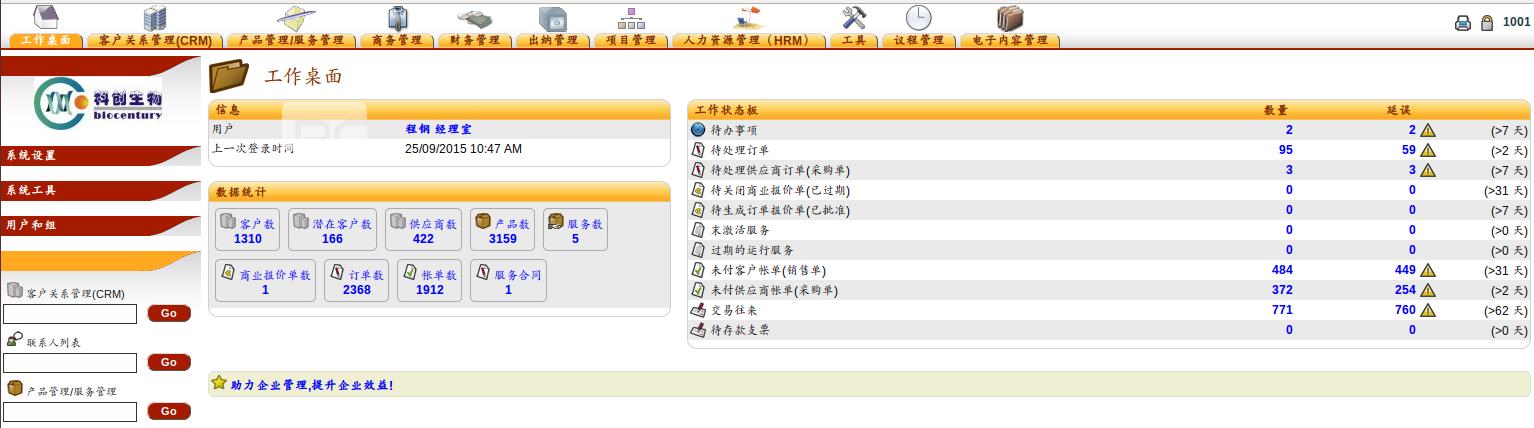Dolibarr 实施定制 中文汉化